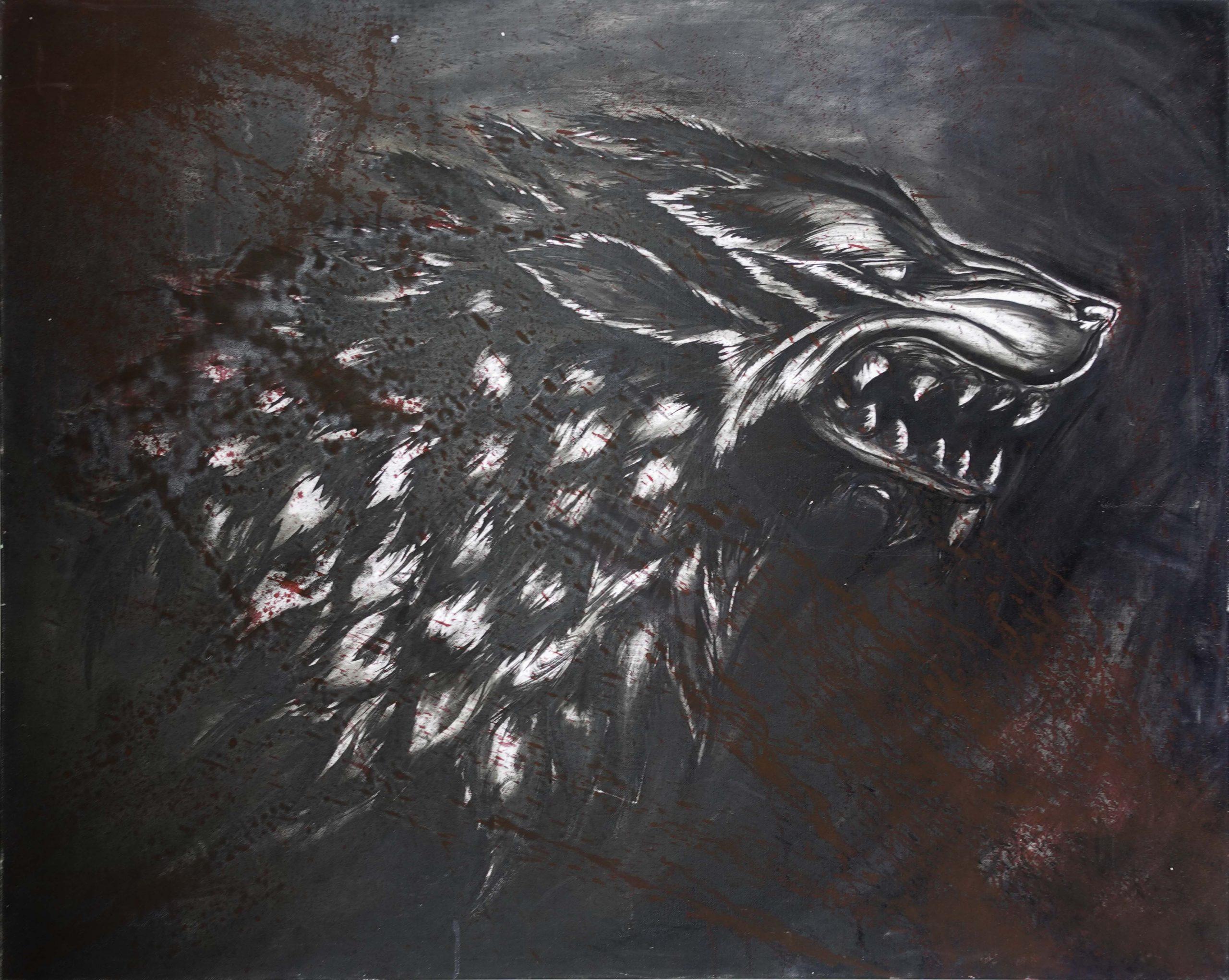 GOT Wolf (81cm x 102cm)